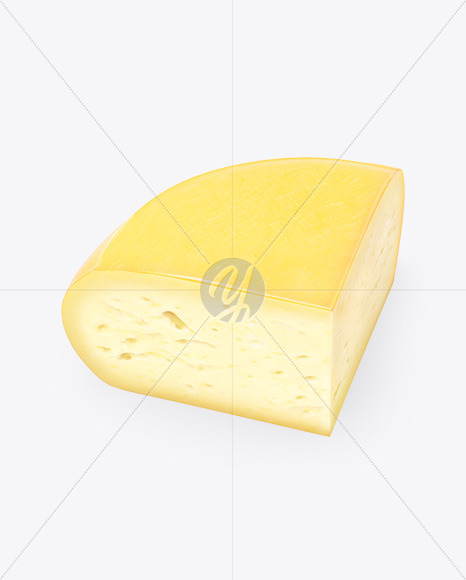 Quarter of Cheese Mockup