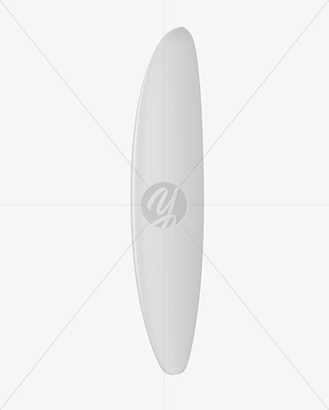 Surfboard Mockup - Left Side View