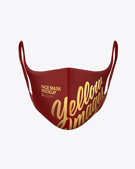 Download Cloth Face Mask Mockup Psd Yellowimages