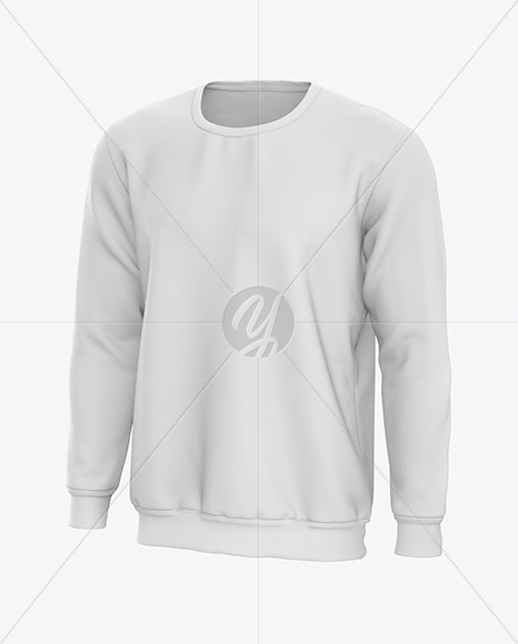 Men's Sweatshirt Mockup