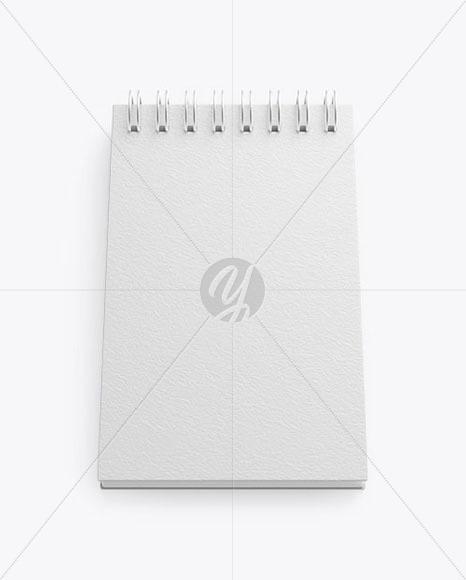 Download Textured Notebook Mockup Free Mockups