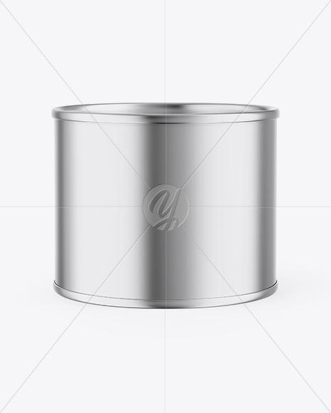 Metallic Can Mockup