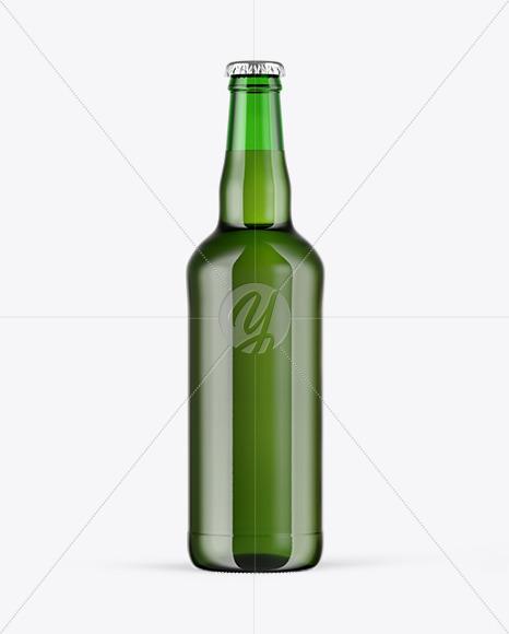 Download Green Glass Beer Bottle Mockup In Bottle Mockups On Yellow Images Object Mockups PSD Mockup Templates