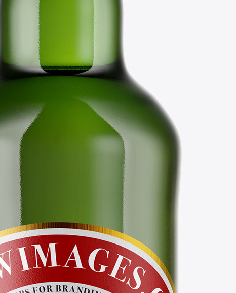 Download Green Glass Beer Bottle Mockup In Bottle Mockups On Yellow Images Object Mockups Yellowimages Mockups