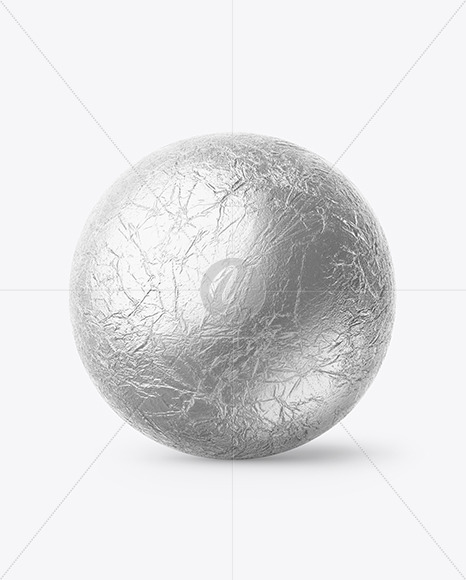 Chocolate Ball Mockup