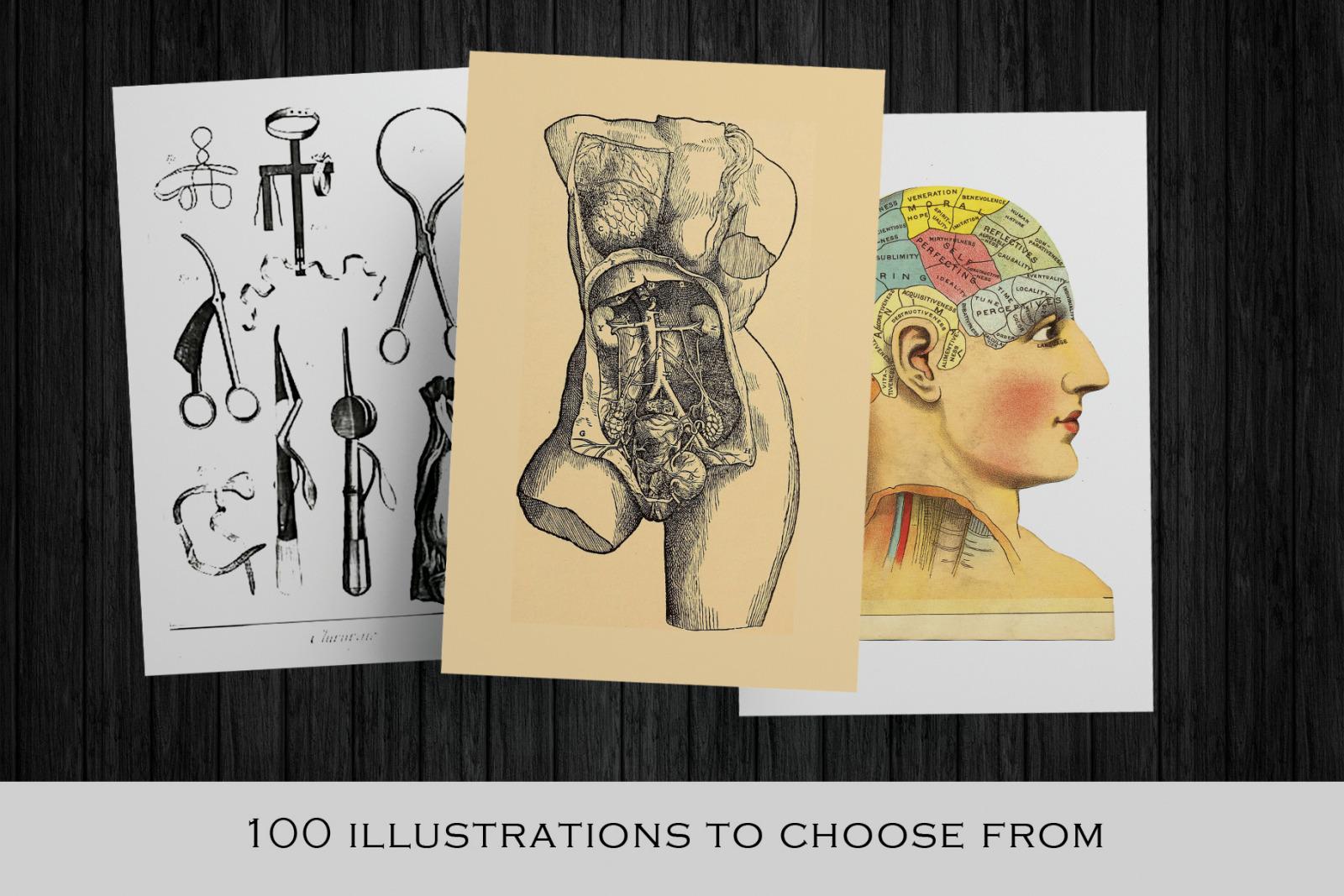Medical Art   Massive Clip Art Pack   Medical art, Vintage