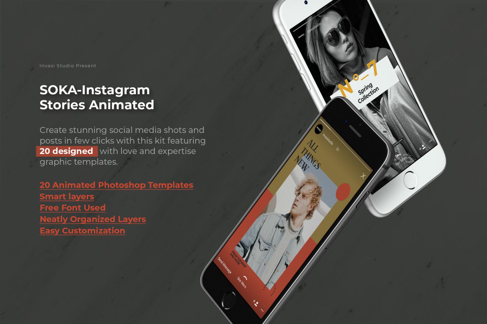 SOKA-Instagram Stories Animated