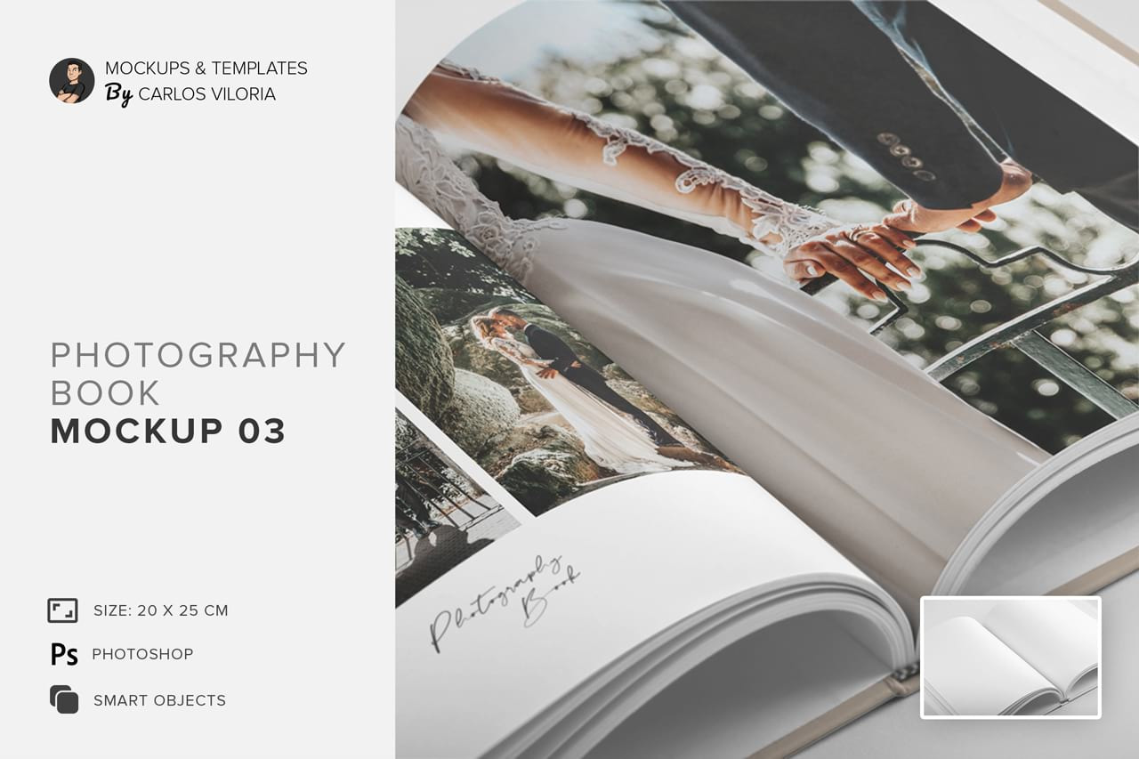 Download Hardcover Photo Book Mockup 03 In Stationery Mockups On Yellow Images Creative Store PSD Mockup Templates