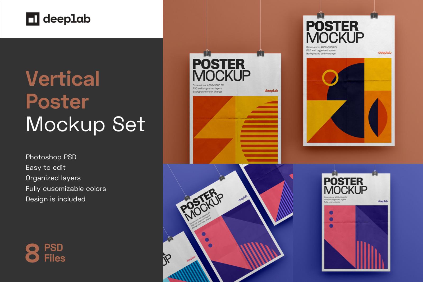 Poster Mockup Set