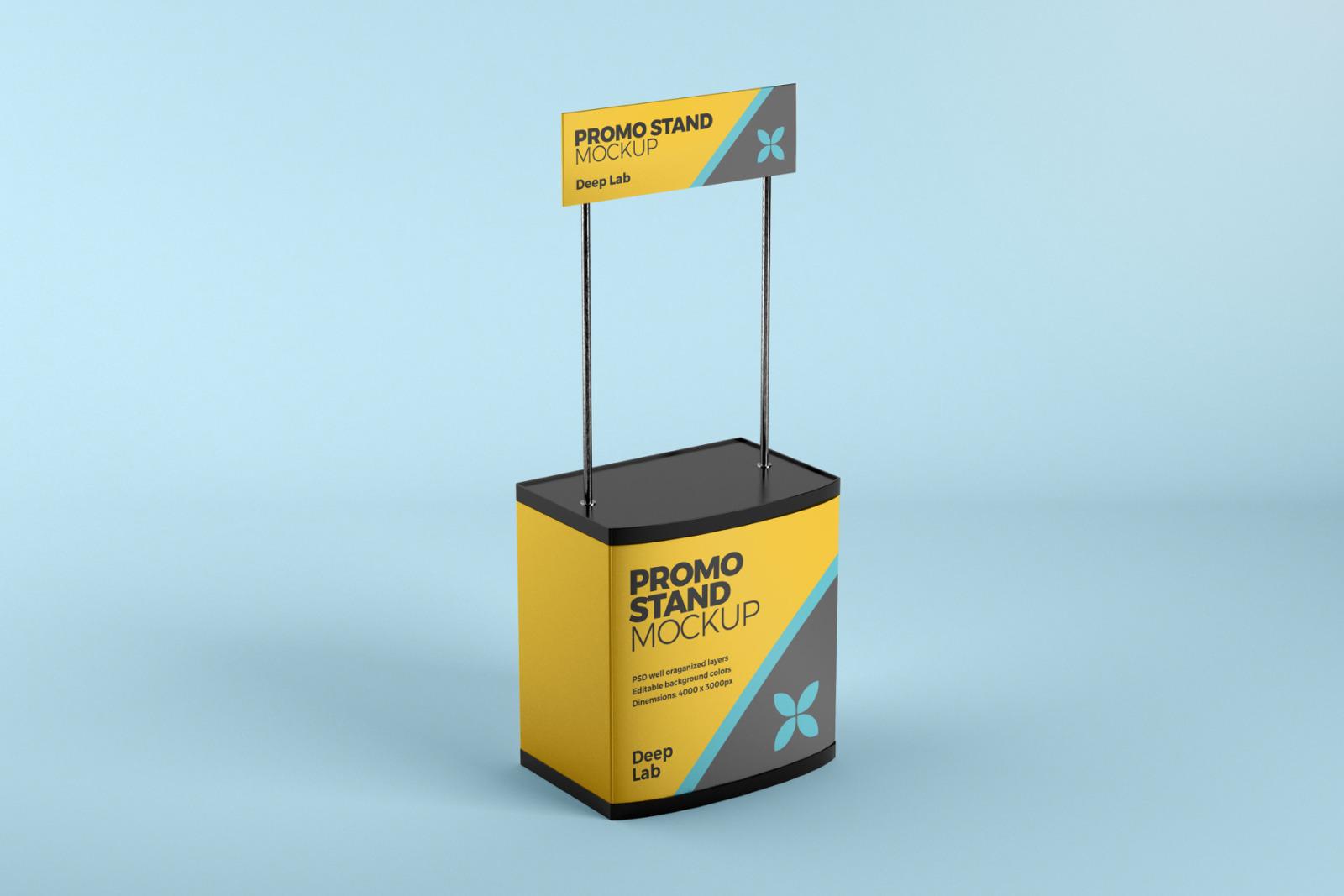 Promo Stand Mockup Set