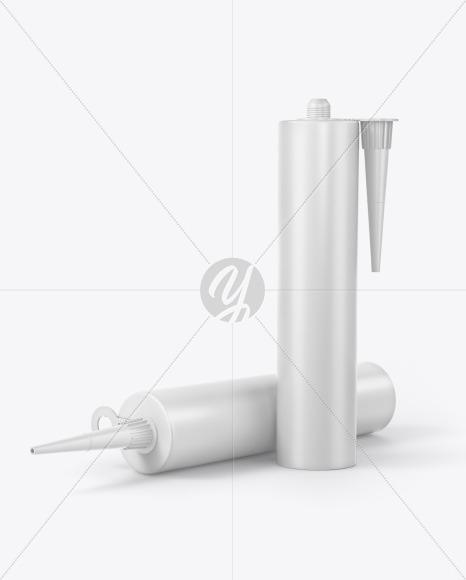 Sealant Tube Mockup