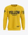 Men's Sweatshirt Mockup