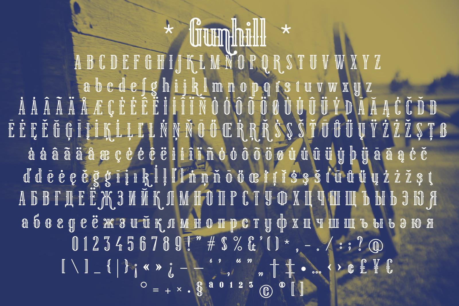 Gunhill Outline