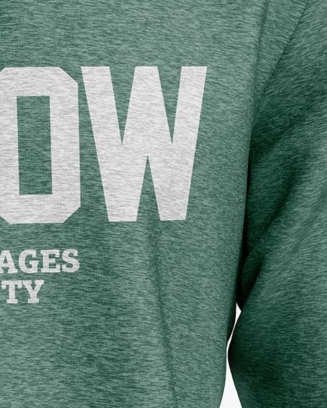 Melange Men's Sweatshirt Mockup