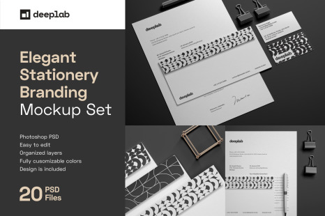 Download Popular Stationery Mockups On Yellow Images Creative Store Yellowimages Mockups