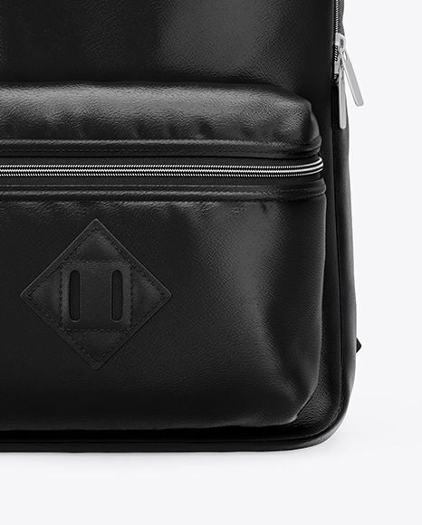 Download Black Backpack Mockup Yellowimages