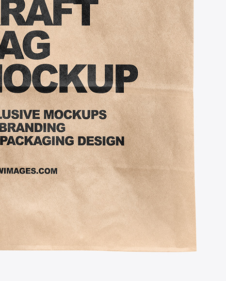 Hand w/ Paper Bag Mockup