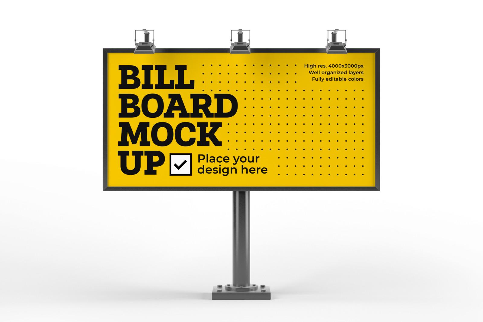 Billboard Mockup Set