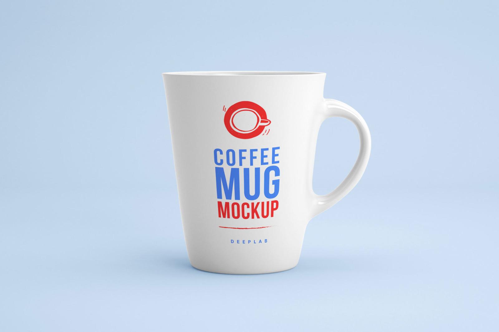 White and Black Mug Mockup set
