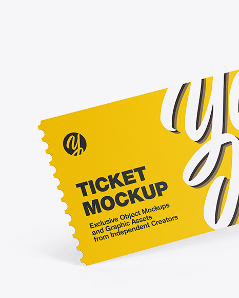 Download Concert Wristband Mockup Yellow Images