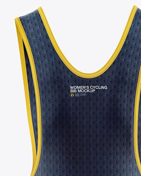 Women's Cycling Bib Mockup