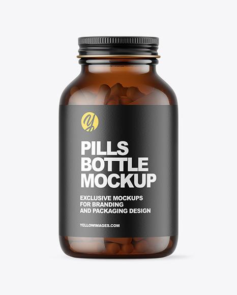 200 Pills Bottle