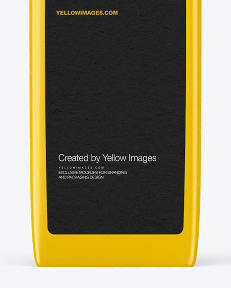 Download Square Matte Bottle With Pump Mockup In Bottle Mockups On Yellow Images Object Mockups PSD Mockup Templates