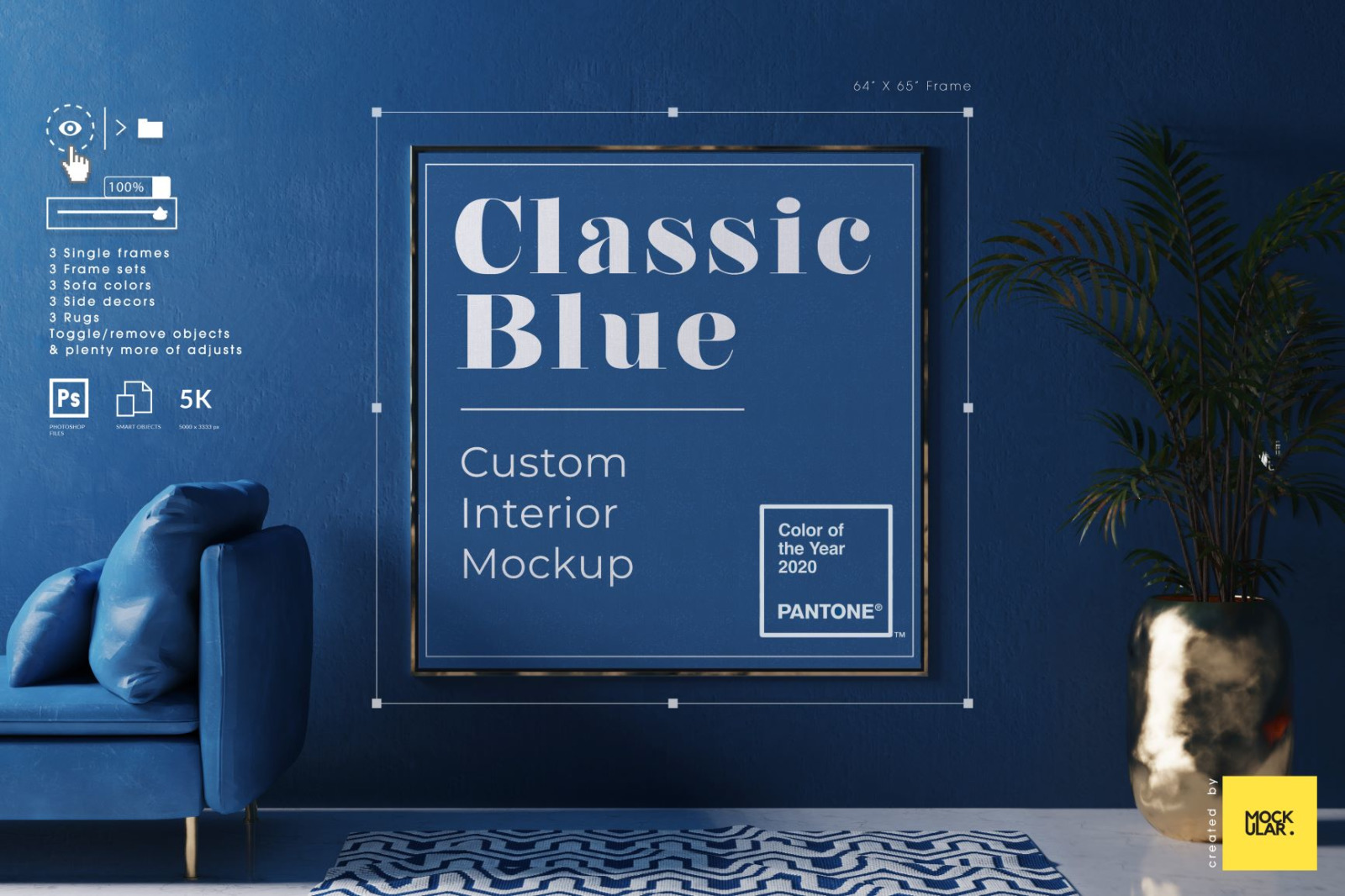 Download Free Painting Frame Mockup PSD - Free PSD Mockup Templates