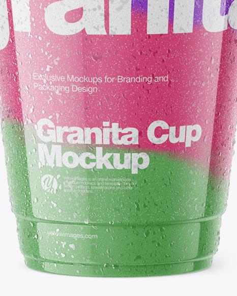 Granita Cup Mockup