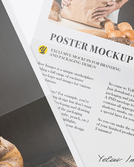 Two Posters Mockup