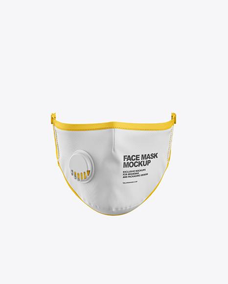 Mockup Masker Scuba - Best Face Mask Mockup. Display your ...