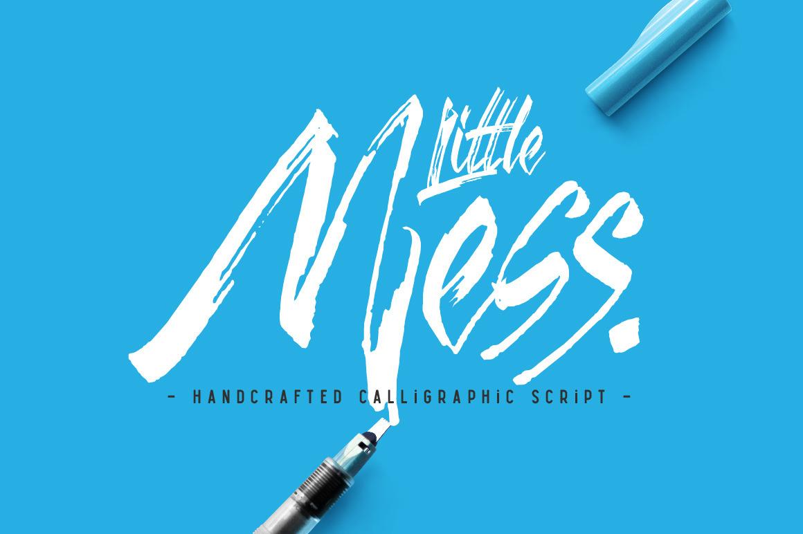 Little Mess font