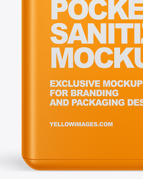 Pocket Sanitizer Mockup
