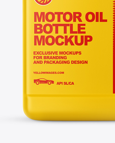 Download Motor Oil Bottle Mockup Yellow Author PSD Mockup Templates