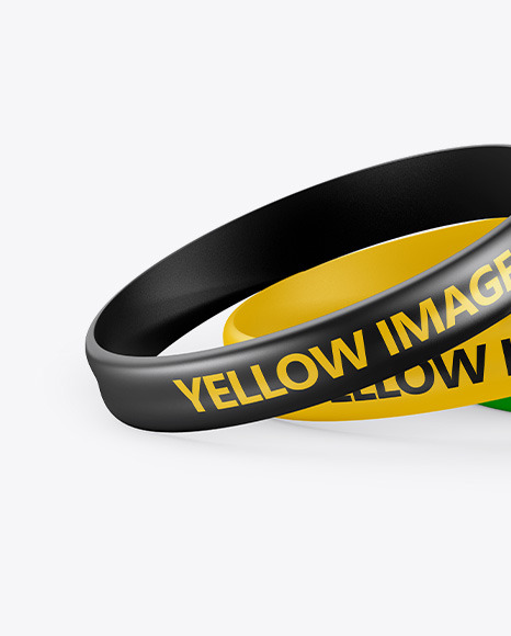 Download Silicone Wristband Mockup Free Psd Yellowimages