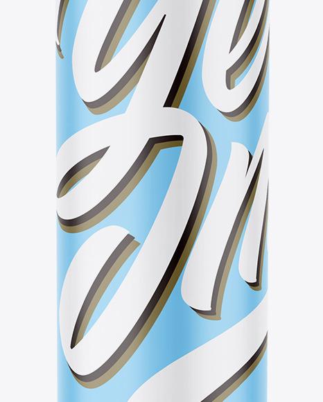 Matte Cosmetic Bottle w/ Dispenser Mockup