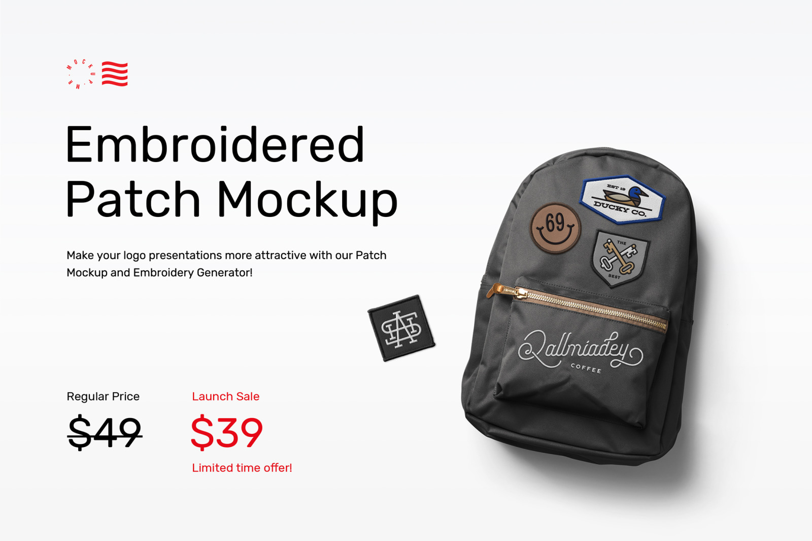 Patch Mockups And Embroidery Generator In Apparel Mockups On
