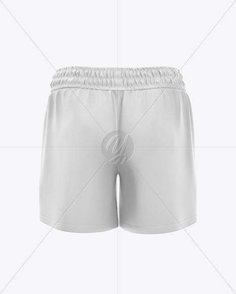 Men's Rugby Shorts Mockup