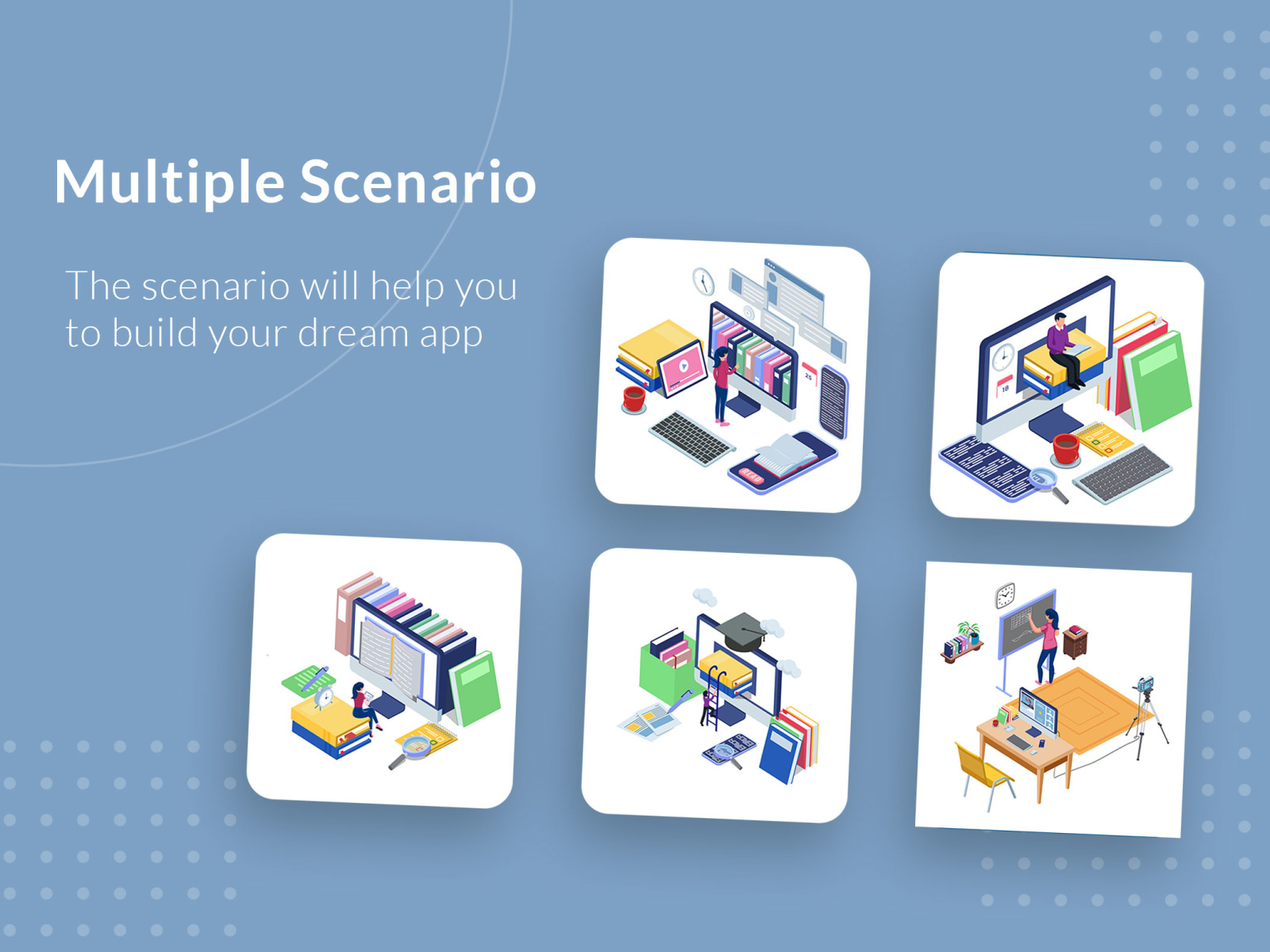 Isometric E-Learning Activity