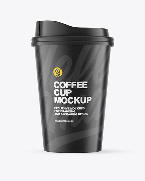 Free Mockup Cup Coffee
