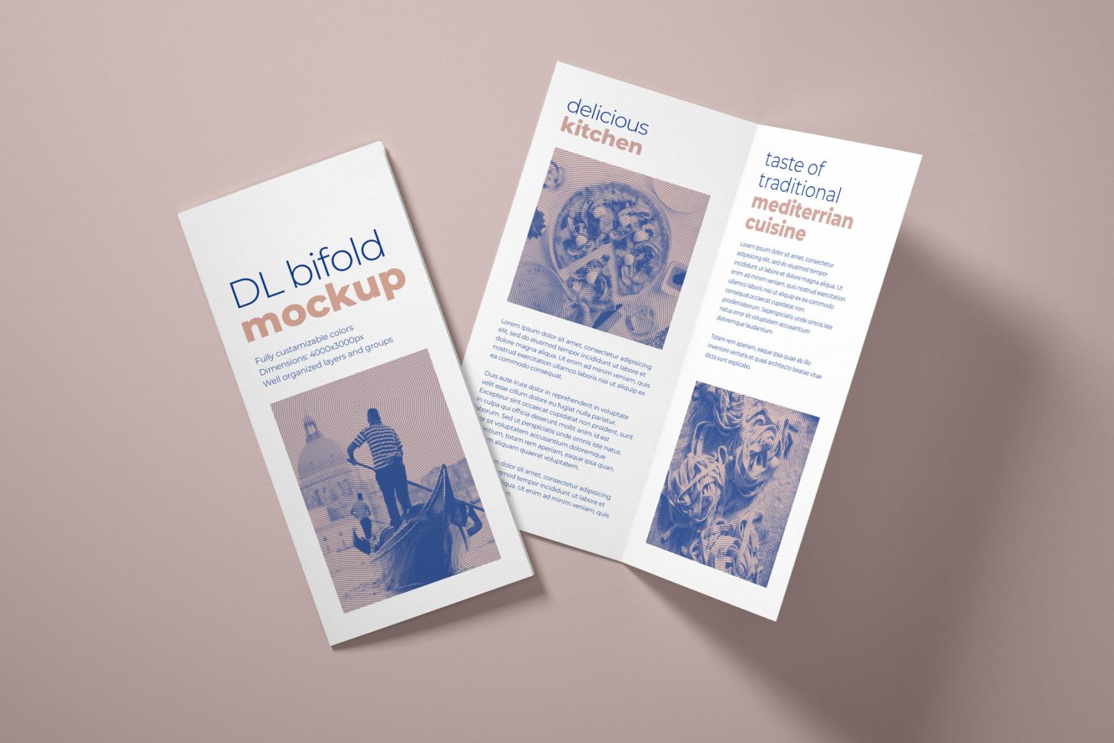 Download Bifold Brochure Mockup Free Download PSD - Free PSD Mockup Templates