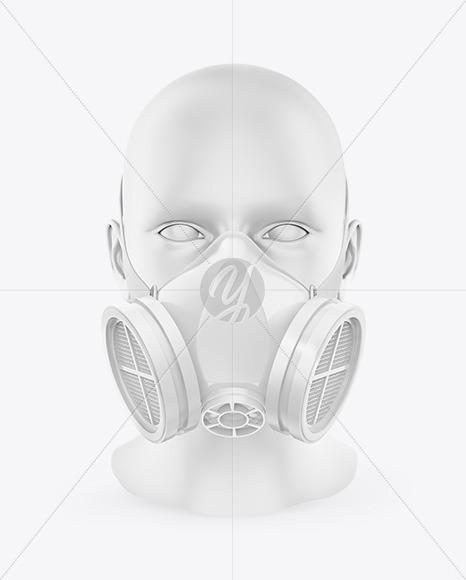 Gas Mask Mockup