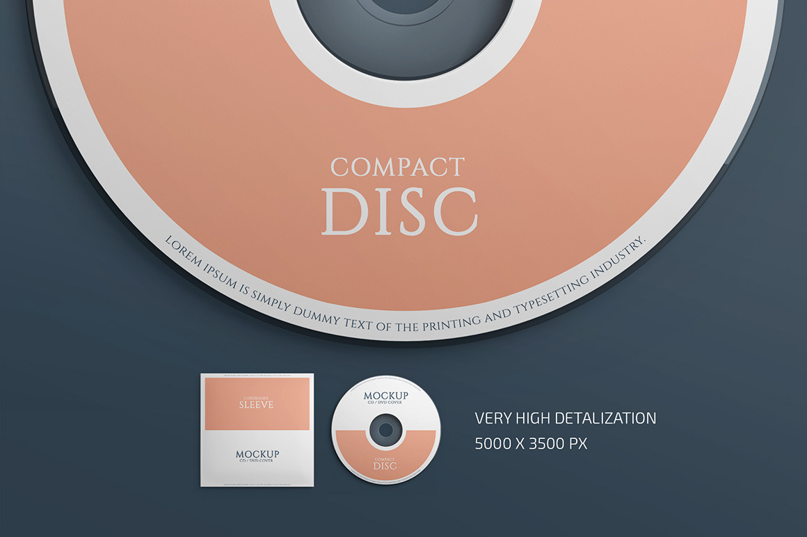 Download Cd Cover Mockup Set In Packaging Mockups On Yellow Images Creative Store PSD Mockup Templates