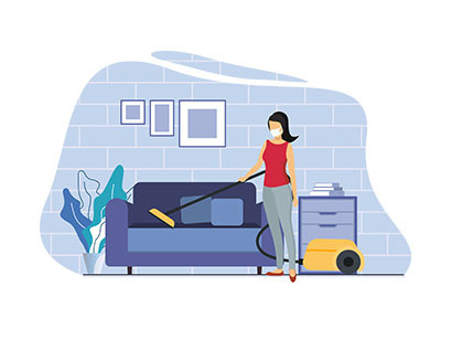 Home Activity Illustration Bundle