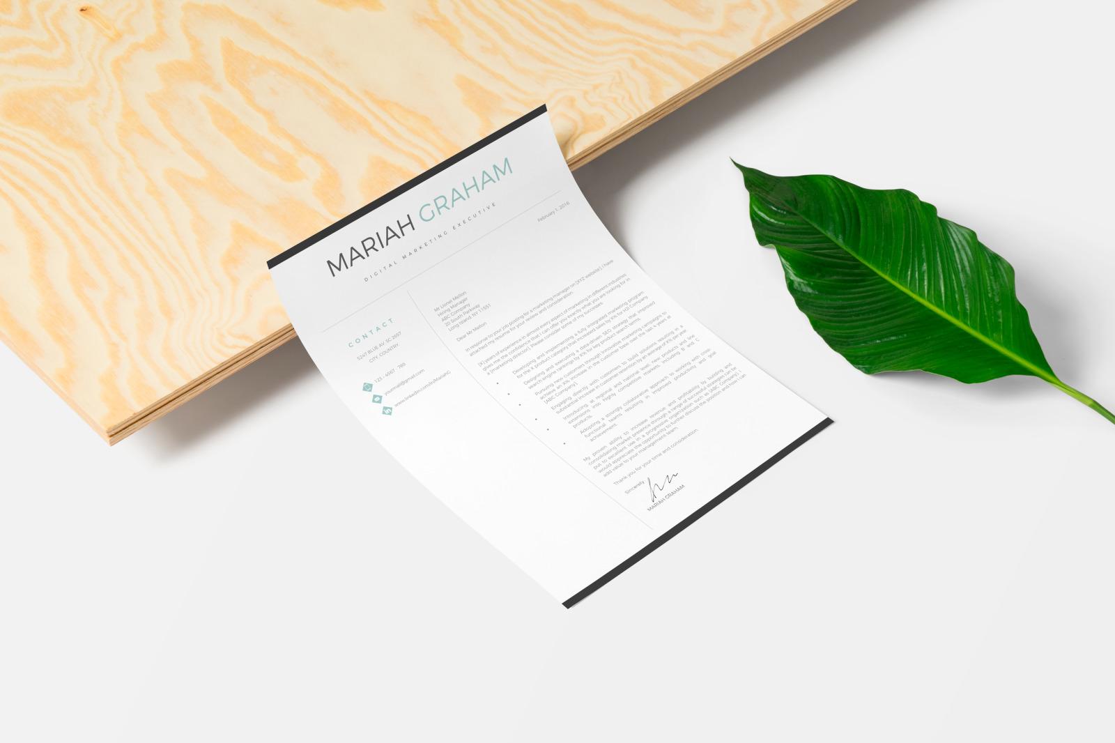professional  u0026 modern resume  cv template  marketing