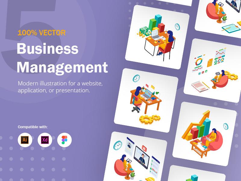 Set of Business Management