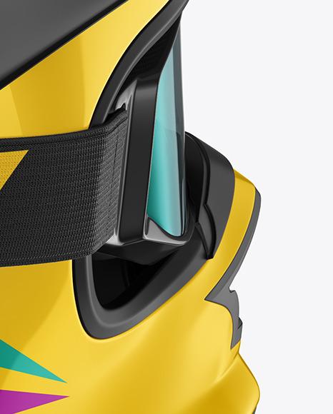 Motocross Helmet Mockup