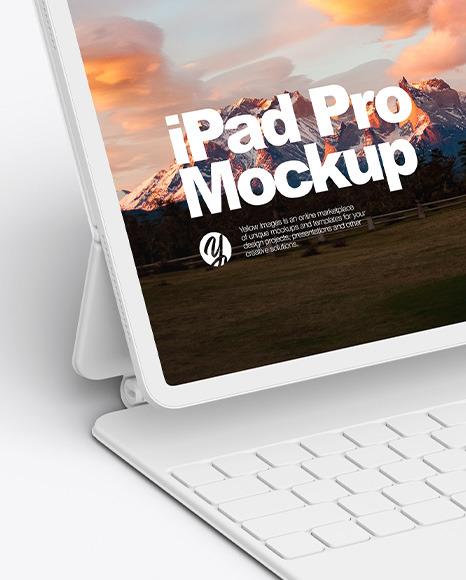 iPad Pro Clay 2020 Mockup