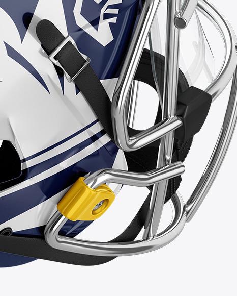 Download Lacrosse Helmet Mockup Yellow Images