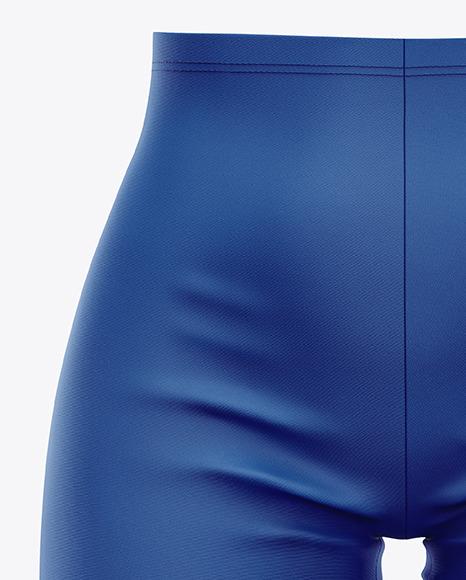 Women's Bike Shorts Mockup